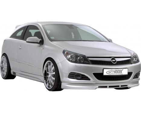 Voorspoiler Opel Astra H GTC (ABS)