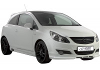 Voorspoiler Opel Corsa D 2006-2011 excl. OPC (ABS)