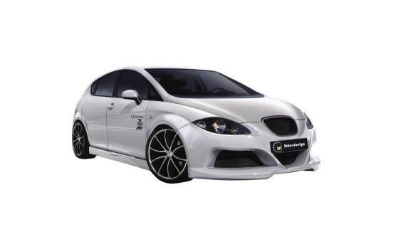 Voorspoiler Seat Leon 5F SC/5-deurs/ST 2013- excl. FR/Cupra (ABS zwart glanzend)
