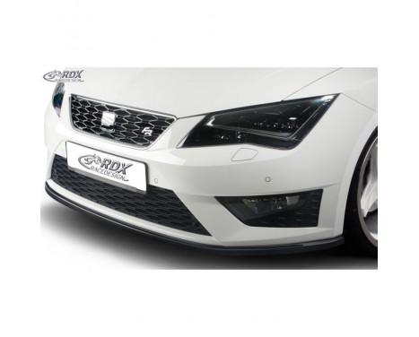 Voorspoiler Seat Leon 5F SC/5-deurs/ST FR/Cupra 2013- (ABS zwart glanzend)