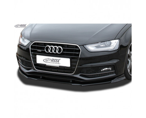 Voorspoiler Vario-X Audi A4 B8 S4/S-Line Facelift 2012-2015 (PU)