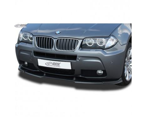 Voorspoiler Vario-X BMW X3 E83 2006-2010 (PU)