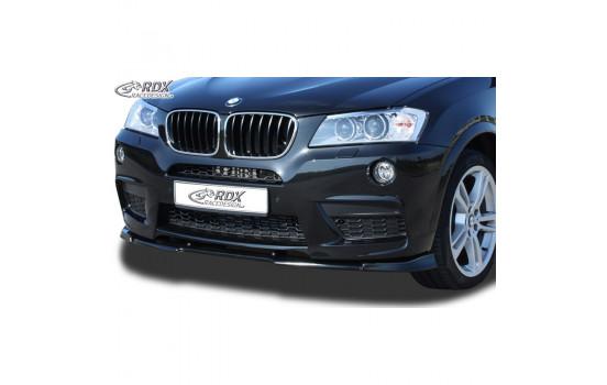Voorspoiler Vario-X BMW X3 F25 M-Technik 2010-2014 (PU)
