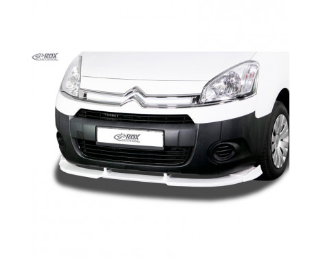 Voorspoiler Vario-X Citroën Berlingo & Peugeot Partner 2008-2015 (PU)