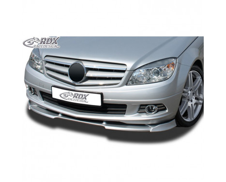 Voorspoiler Vario-X Mercedes C-Klasse W204 2007-2011 (PU)