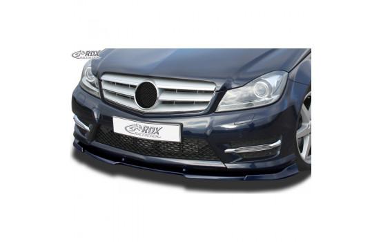 Voorspoiler Vario-X Mercedes C-Klasse W204/S204 AMG-Styling 2011-2014 (PU)