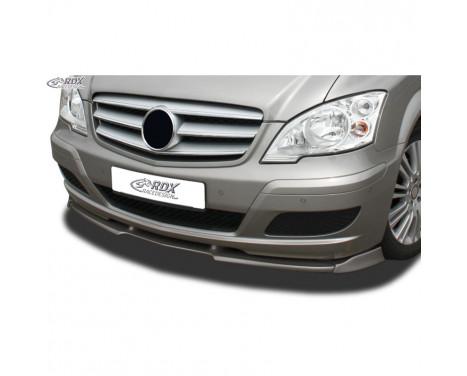 Voorspoiler Vario-X Mercedes Viano W639/V639 2010- (PU)