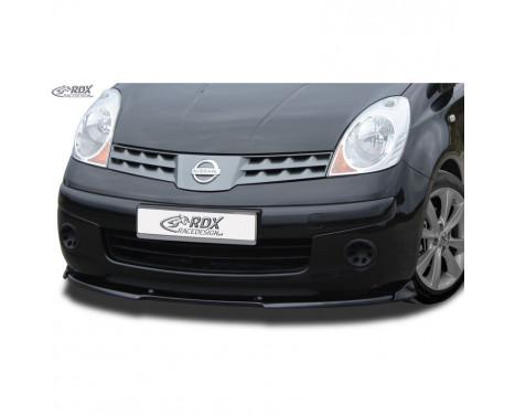 Voorspoiler Vario-X Nissan Note (E11) 2005-2009 (PU)