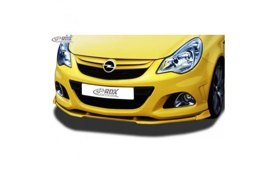 Voorspoiler Vario-X Opel Corsa D Facelift OPC 2010- (PU)