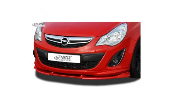 Voorspoiler Vario-X Opel Corsa D Facelift OPC-Line 2010- (PU)