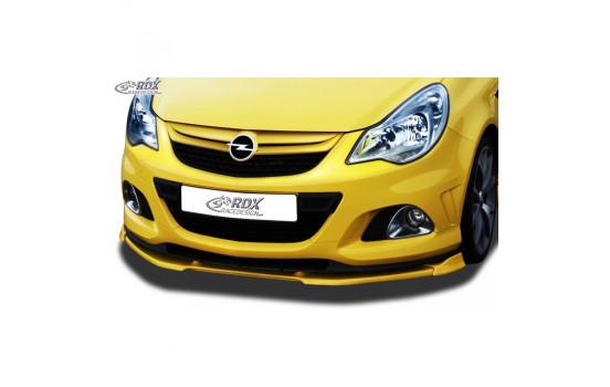 Voorspoiler Vario-X Opel Corsa D Facelift OPC Nürburgring Edition 2010- (PU)