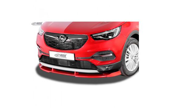 Voorspoiler Vario-X Opel Grandland X 2017- (PU)