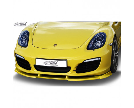 Voorspoiler Vario-X PO Boxster (981) 2012- (PU)