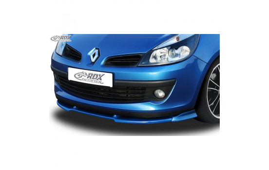 Voorspoiler Vario-X Renault Clio III Phase 1 2005-2009 excl. RS (PU)