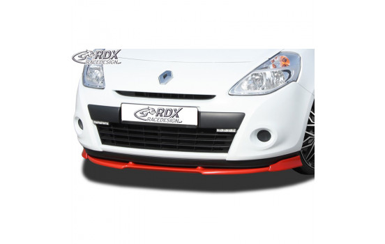 Voorspoiler Vario-X Renault Clio III Phase 2 2009-2012 excl. RS (PU)