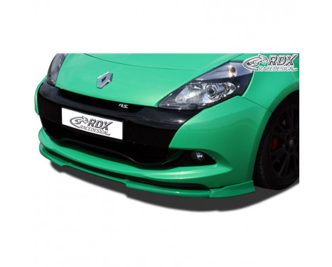 Voorspoiler Vario-X Renault Clio III RS Phase 2 2009-2012 (PU)