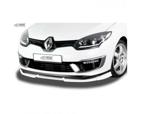 Voorspoiler Vario-X Renault Megane III GT + GT-Line 2014- (PU)