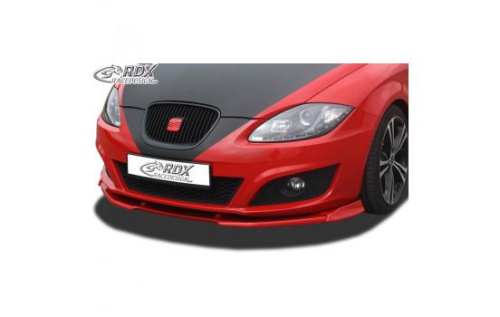 Voorspoiler Vario-X Seat Leon 1P Facelift 2009-2012 excl. FR/Cupra (PU)