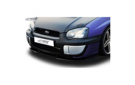Voorspoiler Vario-X Subaru Impreza 3 (GD) WRX 2003-2005 (PU)