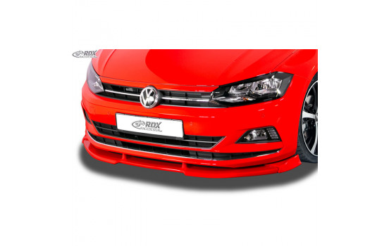 Voorspoiler Vario-X Volkswagen Polo (2G/AW) 2017- excl. R-Line/GTi (PU)