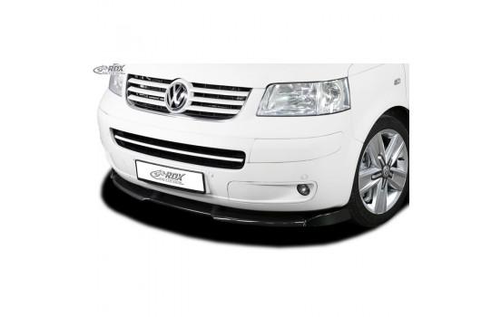 Voorspoiler Vario-X Volkswagen Transporter T5 2003-2009 (gespoten bumper) (PU)