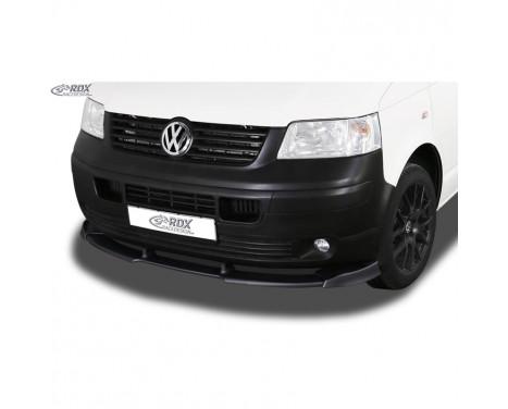 Voorspoiler Vario-X Volkswagen Transporter T5 2003-2009 (ongespoten bumper) (PU)