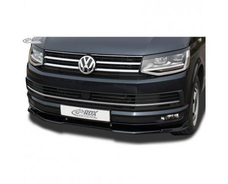 Voorspoiler Vario-X Volkswagen Transporter T6 2015- (gespoten & ongespoten bumper) (PU)