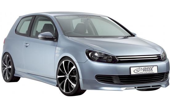 Voorspoiler Volkswagen Golf VI 2008- excl. GTi/GTD/Plus (ABS)