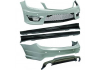 Bumperset Mercedes-Benz C-klasse (W204) C-63 look