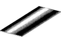 PLAATWERKDEEL PLAAT 500 X330 X0.7