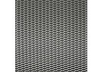 Racegaas aluminium - honingraat 12x6mm - 125x25cm