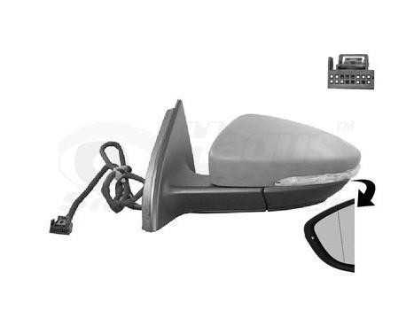Buitenspiegel links elektrisch  Elektrisch/Verwarmd 5740807 Hagus, Afbeelding 2