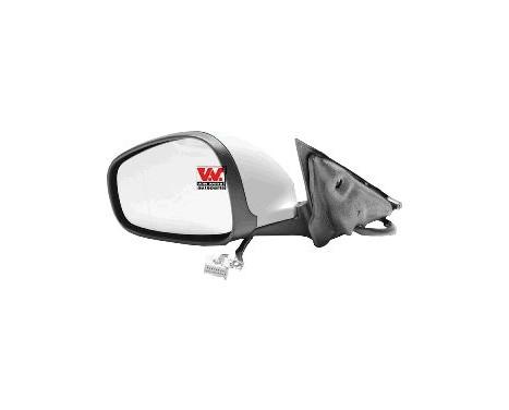 Buitenspiegel  LINKS  Elektrisch Verstelbaar +Temperatuursensor 0160807 Hagus