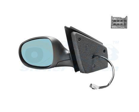 Buitenspiegel links elektrisch  ZWART 1629807 Hagus, Afbeelding 2