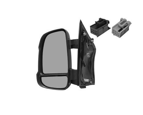 Buitenspiegel  LINKS VOLLEDIG +Temp Sensor 1651803 Hagus