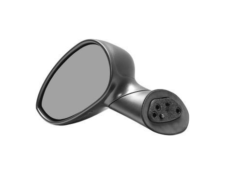 Buitenspiegel  LINKS VOLLEDIG ZWART 1604803 Hagus