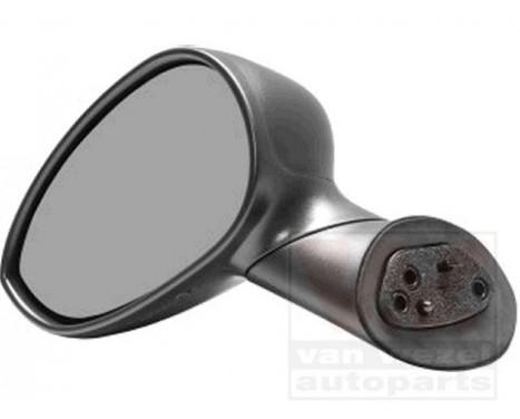 Buitenspiegel  LINKS VOLLEDIG ZWART 1604803 Hagus, Afbeelding 2
