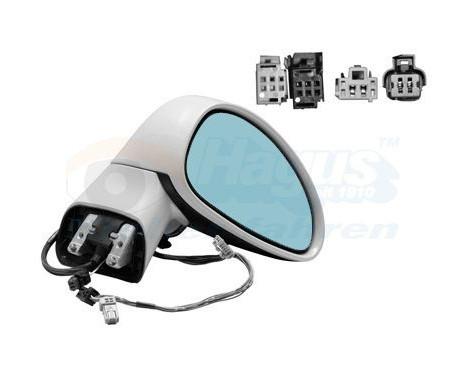 Buitenspiegel rechts elektrisch  ELEKTRISCHInklapbaar +Temp 0970818 Hagus, Afbeelding 2