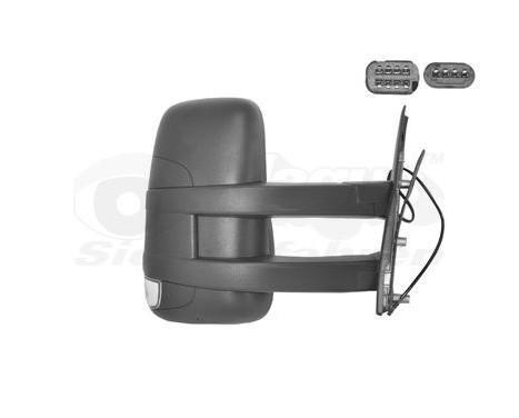 Buitenspiegel rechts elektrisch  Lange Arm, Verwarmd 2815818 Hagus, Afbeelding 3