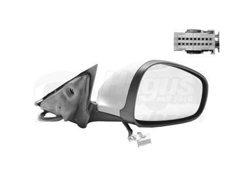 Buitenspiegel rechts elektrisch  Primer,Verwarmd 0160808 Hagus, Afbeelding 2