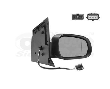 Buitenspiegel rechts elektrisch  Primer,Verwarmd 5818818 Hagus, Afbeelding 2
