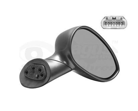 Buitenspiegel rechts elektrisch  ZWART 1604806 Hagus, Afbeelding 2