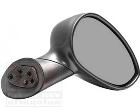 Buitenspiegel  RECHTS VOLLEDIG ZWART 1604804 Hagus, Afbeelding 2