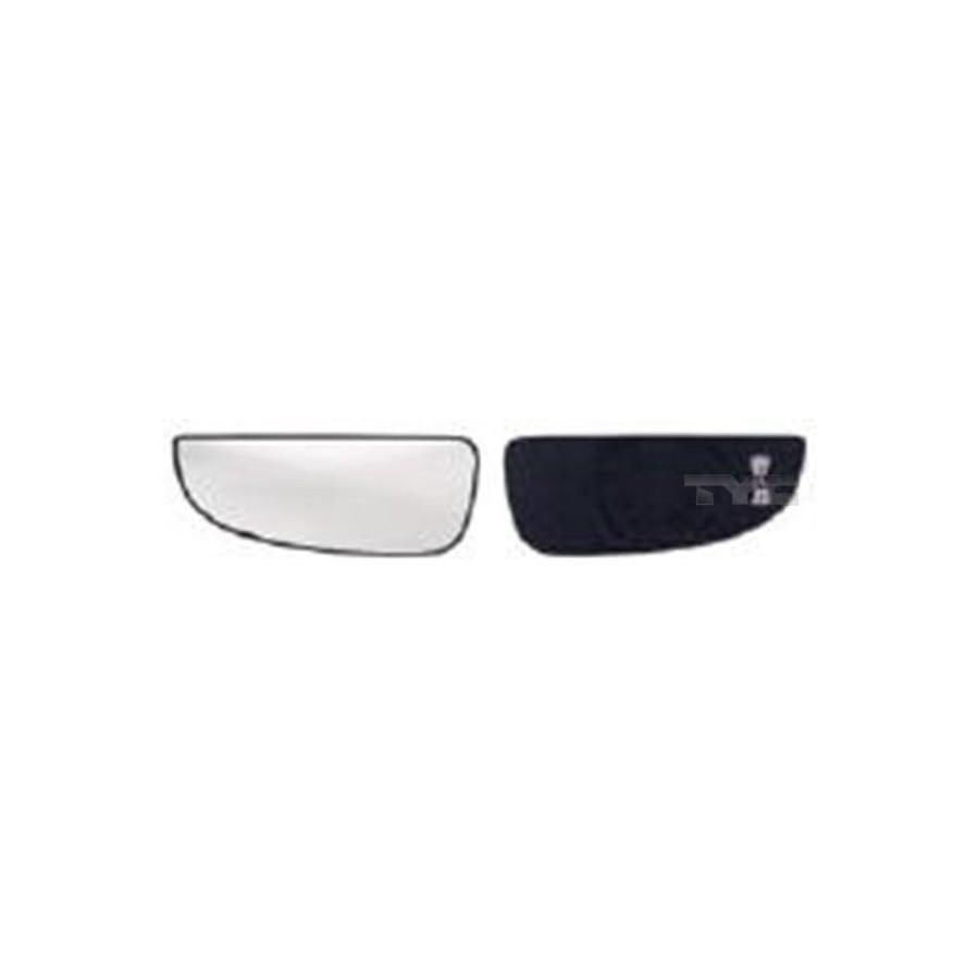 Spiegelglas Außenspiegel links van Wezel 1651835