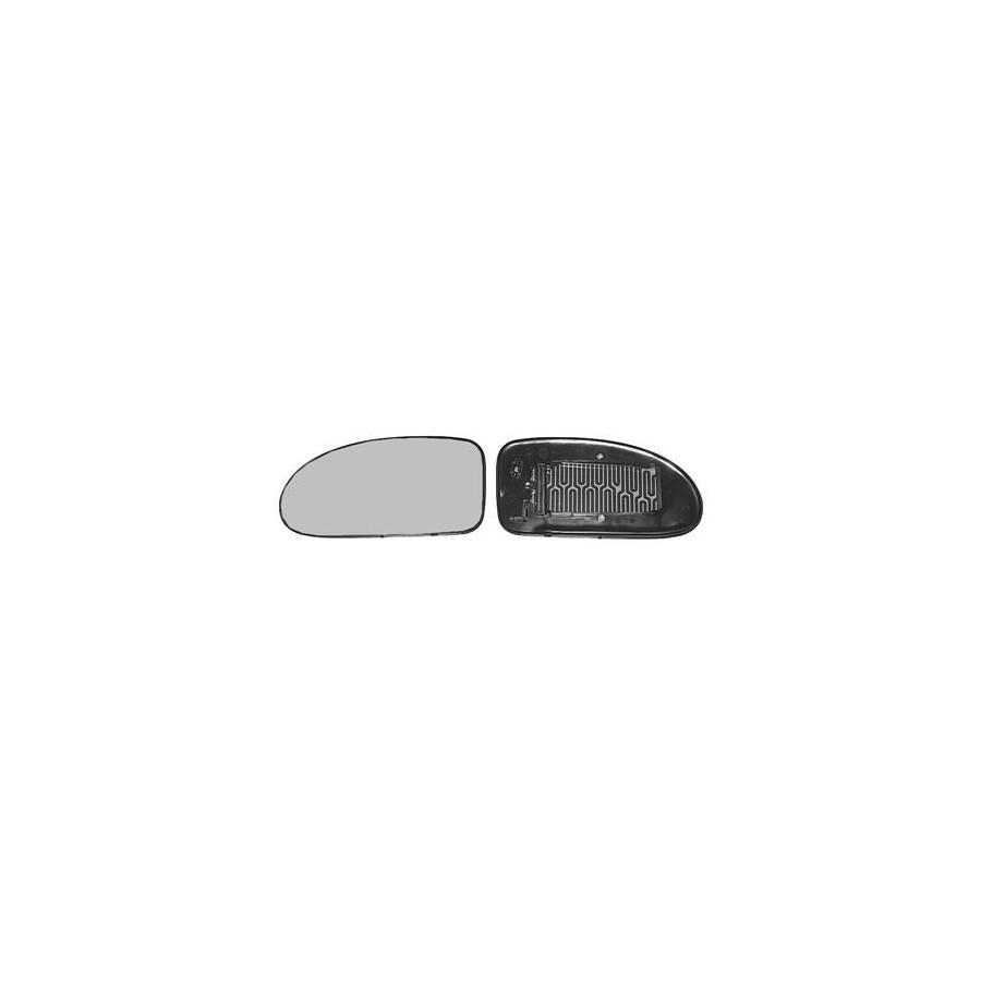 Spiegelglas Außenspiegel BLIC 6102-02-1212992P