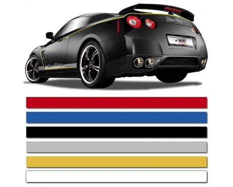 Bandes autocollantes universelles AutoStripe Cool200 - Blanc - 6 mm x 975 cm, Image 2