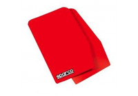 Bavettes universelles Sparco 'Large' - Rouge