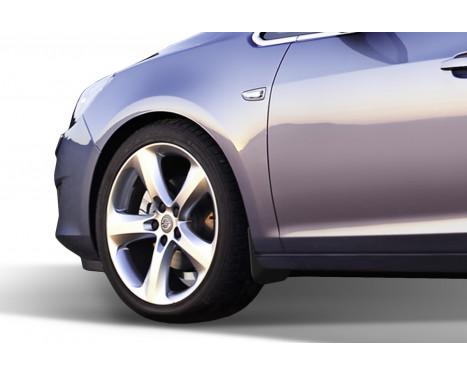 spatlappenset (bavettes) avant OPEL Astra J, 2009-> hb; OPEL Astra J Sports Tourer, 2012-> wag 2 pcs, Image 2