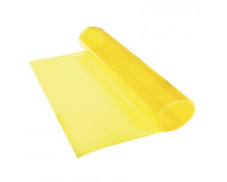 Feuille de teinte plastique Foliatec jaune 30x100cm - 1 pièce