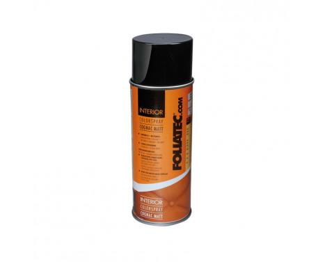 Spray de couleur d'intérieur Foliatec - cognac mat - 400ml